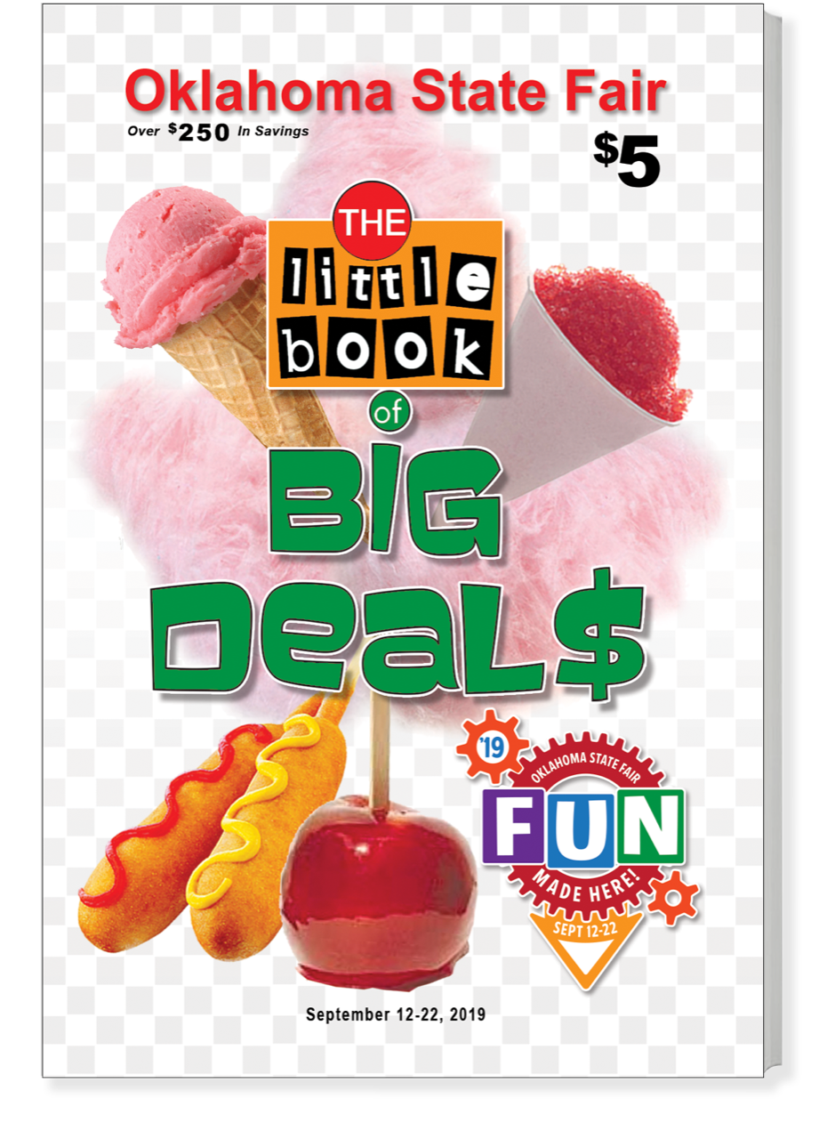 state fair coupon book oklahoma